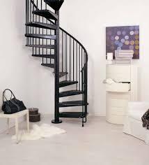 stair modern home interior decoration using indoor black iron