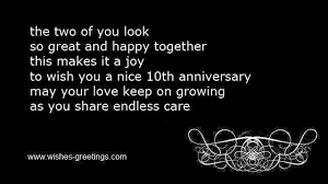 wedding quotes may your 10th wedding anniversary wishes and tenth marriage congratulations