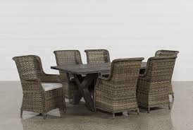 Patio Furniture 7 Piece Dining Set - outdoor patio furniture entire collection living spaces