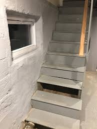 concrete basement stairs amazing home design beautiful with