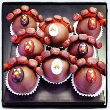 thanksgiving cake balls cake bites