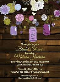 jar invitations vintage jar invitations bridal shower invitation