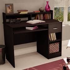 Recessed Computer Desk Furniture Wall Clock Design Ideas With Wooden Desk Walmart Office