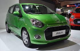 daihatsu daihatsu ayla 1 0l eco car launched in indonesia