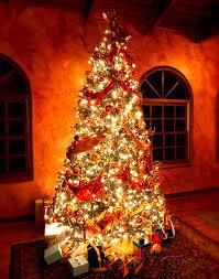 christmas tree ribbon christmas decor ideas