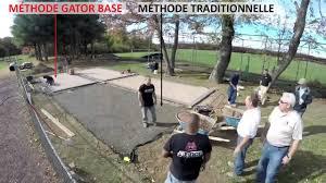 Brock Paver Base Installation by Methode Gator Base Vs Methode Traditionnelle Youtube