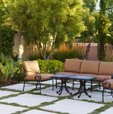 patio paver designs landscape mediterranean with wall oil tiki torches