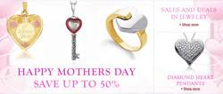 mothers day jewelry sale s day sale on selected jewelry at jewelryaffairs