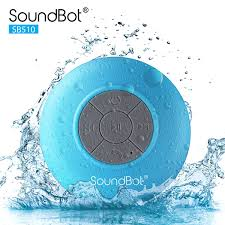 shower and bath music speaker systems soundbot sb510 hd water resistant bluetooth 3 0 shower speaker handsfree portable speakerphone with