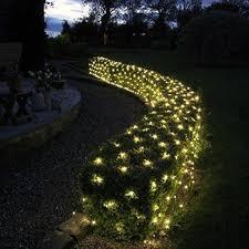 solar powered warm white led twinkle net lights next deal shop