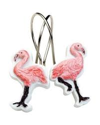 india ink flamingo shower curtain hooks s u m m e r l o v e