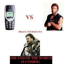 Funny Nokia Memes - chuck norris vs nokia 3310 funny funpic fun funnyca flickr