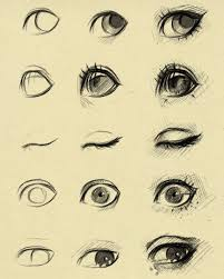 pictures eyes to draw easy drawing art gallery