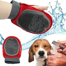 Dog Grooming Groom Glove pet cat brush Mitt dog puppy washing