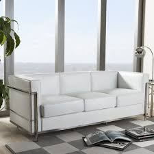leather sofa free delivery mason white leather sofa free shipping today overstock com