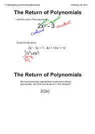 Dividing Polynomials Worksheet 7 1 Multiplying And Dividing Monomials