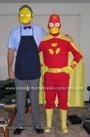 Radioactive Halloween Costume Coolest Simpsons