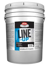 line up water based pavement striping paint krylon industrial