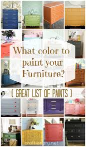 How To Repaint Furniture by Craftionary
