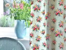 Retro Floral Curtains Vintage Floral Curtains Authentic Vintage Roses Duck Egg Vintage