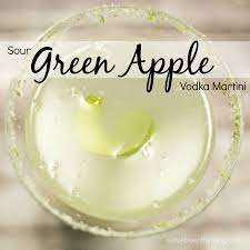 martini vodka sour green apple vodka martini