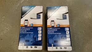 Fred Johnson Garage Door by Chamberlain 1 1 4 Hp Myq Wifi Garage Door Opener Review One