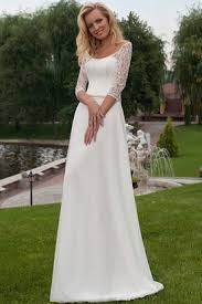 modest wedding dresses with 3 4 sleeves wedding dresses with sleeves modest wedding dresses