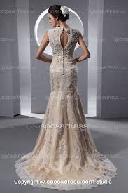colored wedding dresses chagne color wedding dress dresses