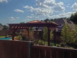 poolside arbor pergola in madill hundt patio covers