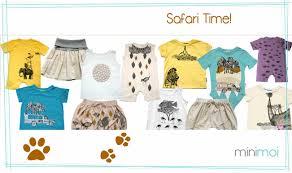 minimoisummer clothes with animals for kids minimoi