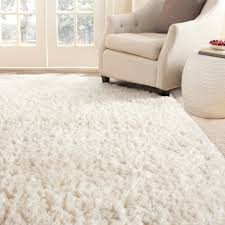 White Area Rug Plush Shag Rug Home Design Ideas And Pictures