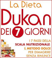 alimenti dukan schema della dieta dukan dei 7 giorni