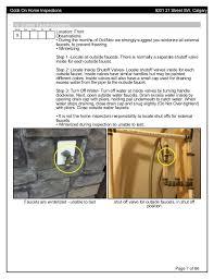 External Faucet 5001 21 St Sw Home Inspection Report