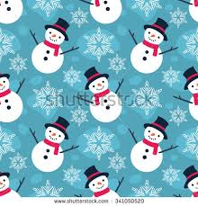 flat christmas wrapping paper christmas seamless vector pattern contain flat stock vector