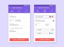 Blind Booking Hotel Checkout U0026 Payment Process For Booking Hotel Mobile Ui Ui