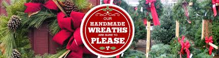 Handmade Wreaths U0026 Greens Hidden Pond Tree Farm