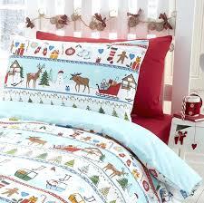 Sheet Bedding Sets Snowman Bedding Sets Tree Reindeer Snowman Quilt Duvet