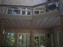 Patio Designs Under Deck by Patio Covers St Louis St Louis Decks Screened Porches