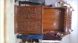 Wood Furniture Manufacturers In India Wooden Temple Wooden Mandir Manufacturer Exporter Supplier From