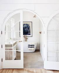 All White Bathroom Black And White Bathroom Inspiration And Why Namoi Watts Is