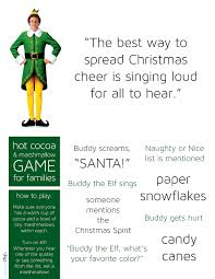 elf movie drinking game marshmallows meredith plays play this