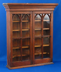 cabinet antique wall cabinet antique federal arched dbl door