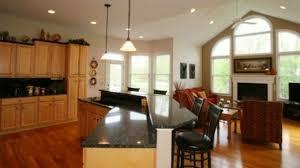 Open Floor Plan Kitchen Designs Sophisticated Open Kitchen Layouts Floor Plan Design Callumskitchen