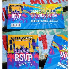 wedding invitations belfast festival wedding invitations by wedfest notonthehighstreet