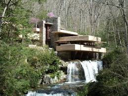 stylist pittsburgh falling water design ideas with peach color