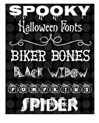 creative playground the spookiest halloween fonts and zombies