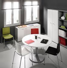 table ronde de bureau bureaux blanc et noir montpellier 34 nîmes 30 agde