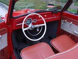 Vw Beetle Classic Interior 1963 Volkswagen Beetle Convertible 170848