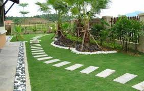 Simple Garden Landscaping Ideas Garden Simple Minimalist Garden Landscaping Design Ideas