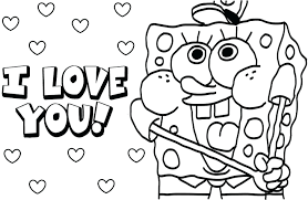 coloring pages characters for spongebob squarepants christmas fun